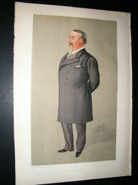 Vanity Fair Print: 1892 Edward Llyod, Music.